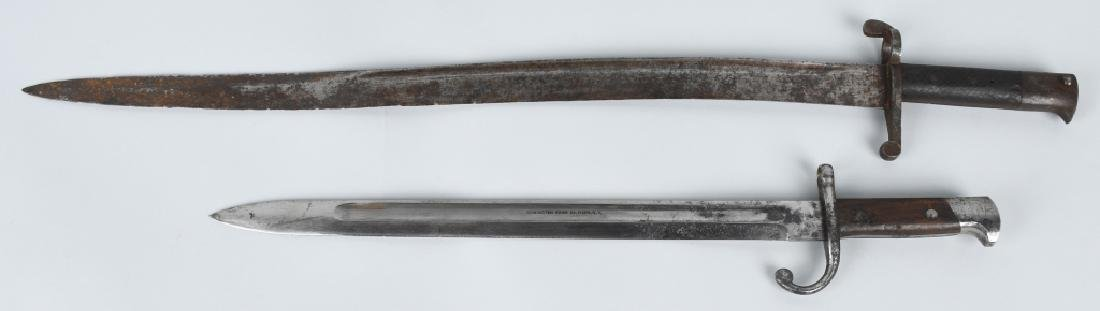 WWI REMINGTON M14 BAYONET & UNIDED SABER BAYONET