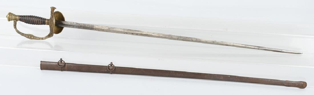 FRENCH SWORD MAKER MARKED & DATED 1909