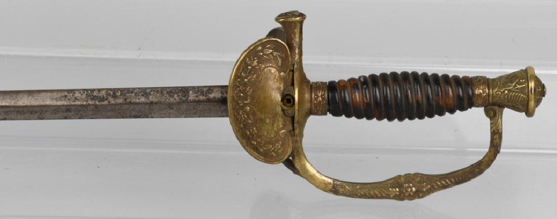 FRENCH SWORD MAKER MARKED & DATED 1909 - 5