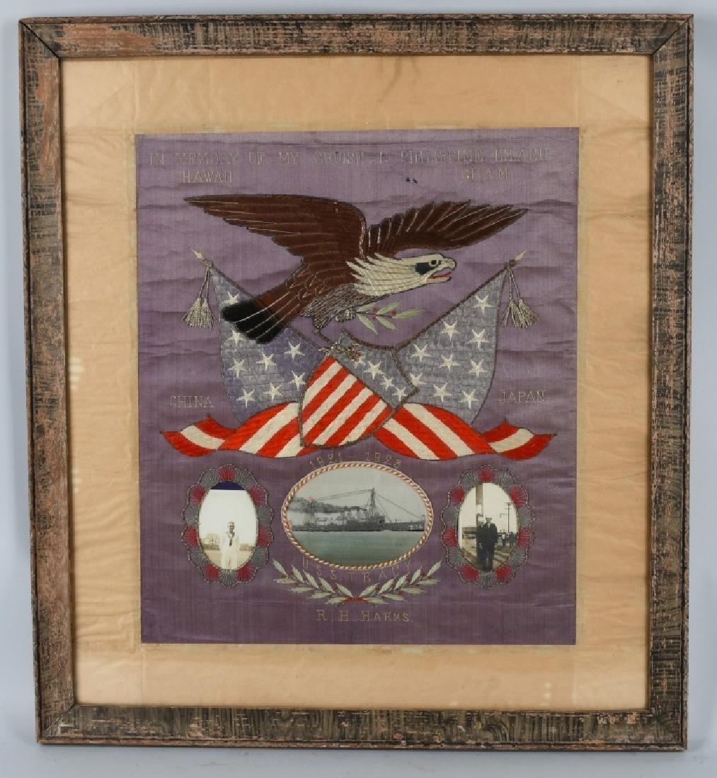 C1900 U.S.S. TRACY CRUISE MEMORIAL HAWAII GUAM PI