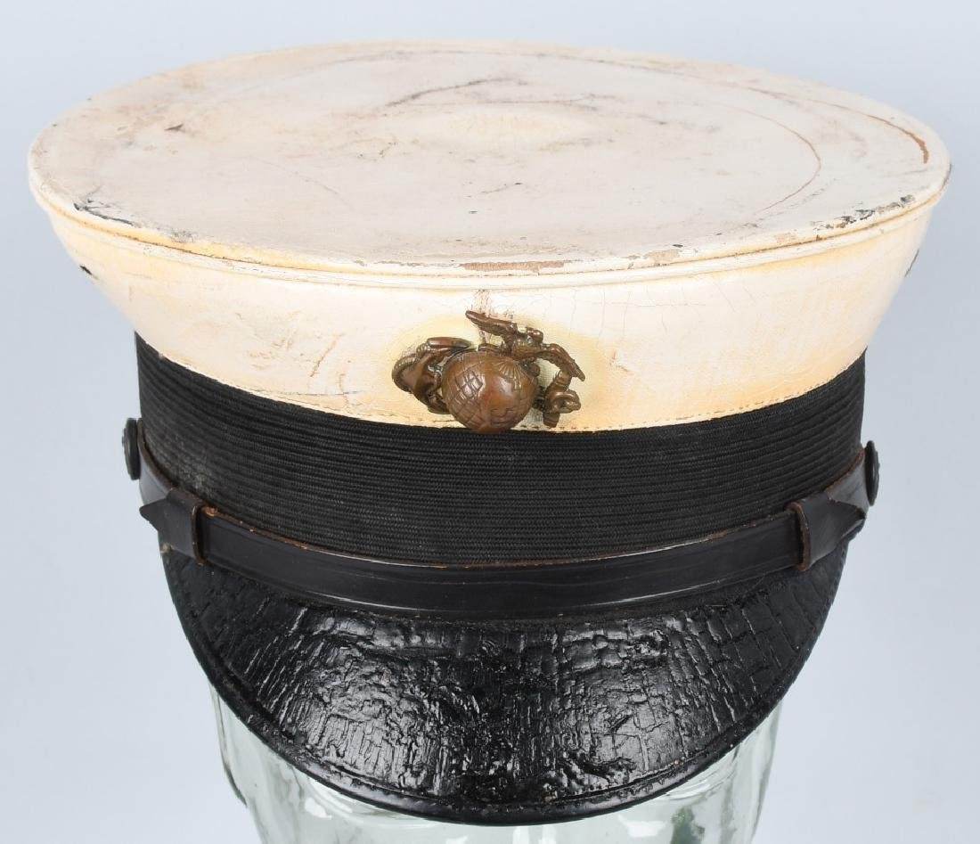 WWI USMC MARINE CORPS BELL CROWN PARADE HAT - 3