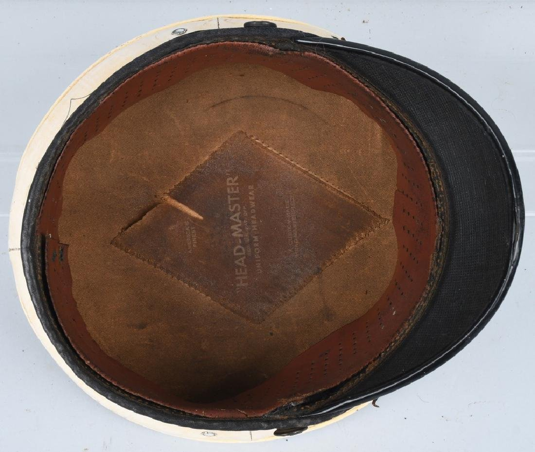 WWI USMC MARINE CORPS BELL CROWN PARADE HAT - 6