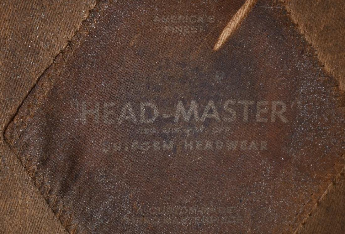 WWI USMC MARINE CORPS BELL CROWN PARADE HAT - 7