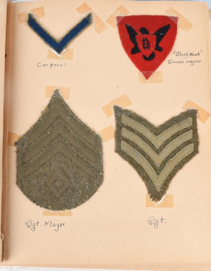 WWI 86TH DIV 333 MG BAT SCRAP BOOK YARD LONG - 4