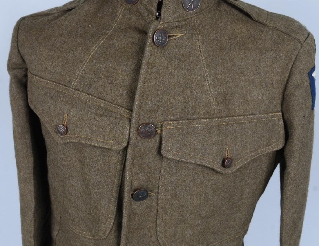 WWI U.S. 2ND DIVISION IDENTIFIED UNIFORM - 4