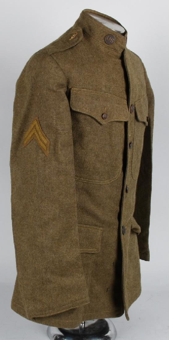 WWI U.S. 2ND DIVISION IDENTIFIED UNIFORM - 6
