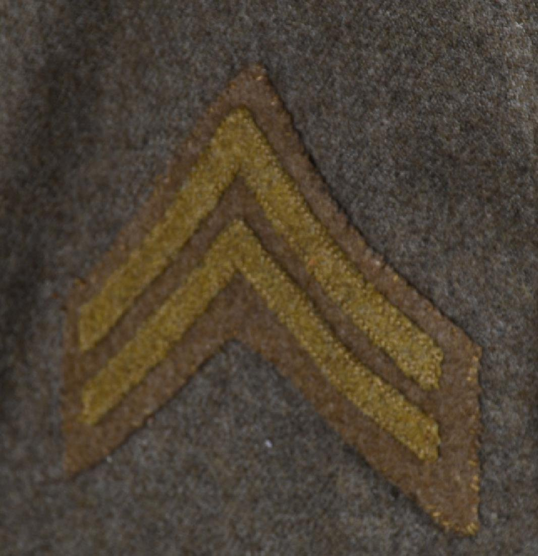 WWI U.S. 2ND DIVISION IDENTIFIED UNIFORM - 7