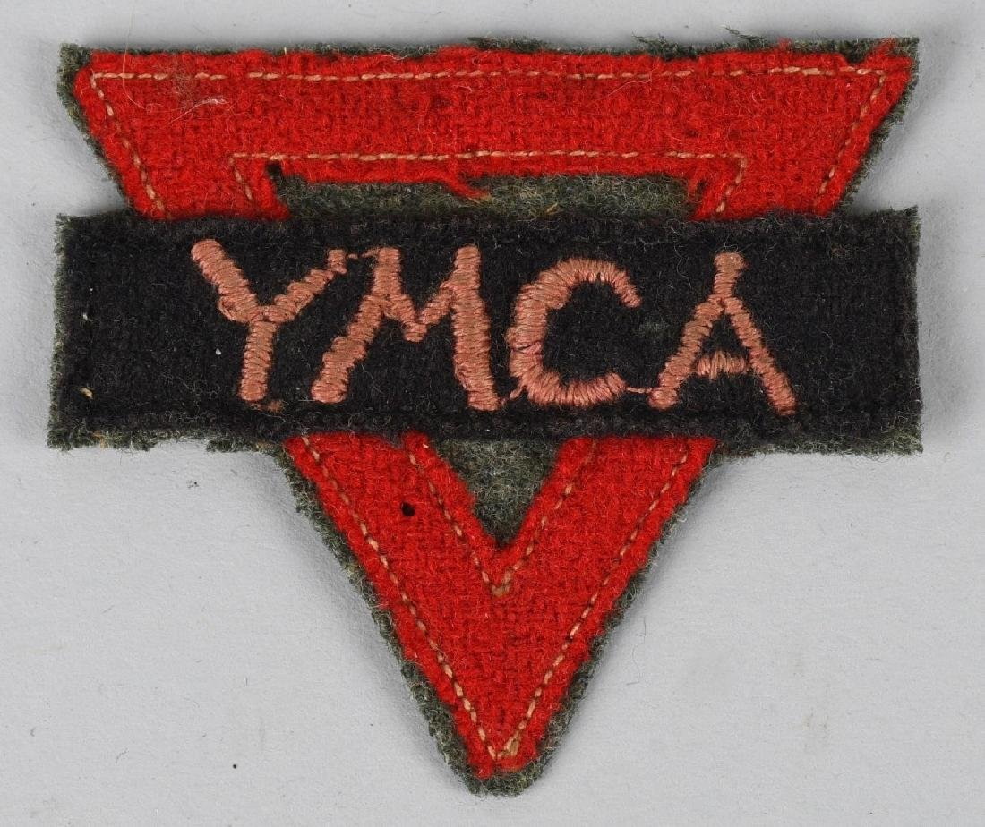 WWI U.S. RED CROSS IDED PATCH & PHOTO - 3