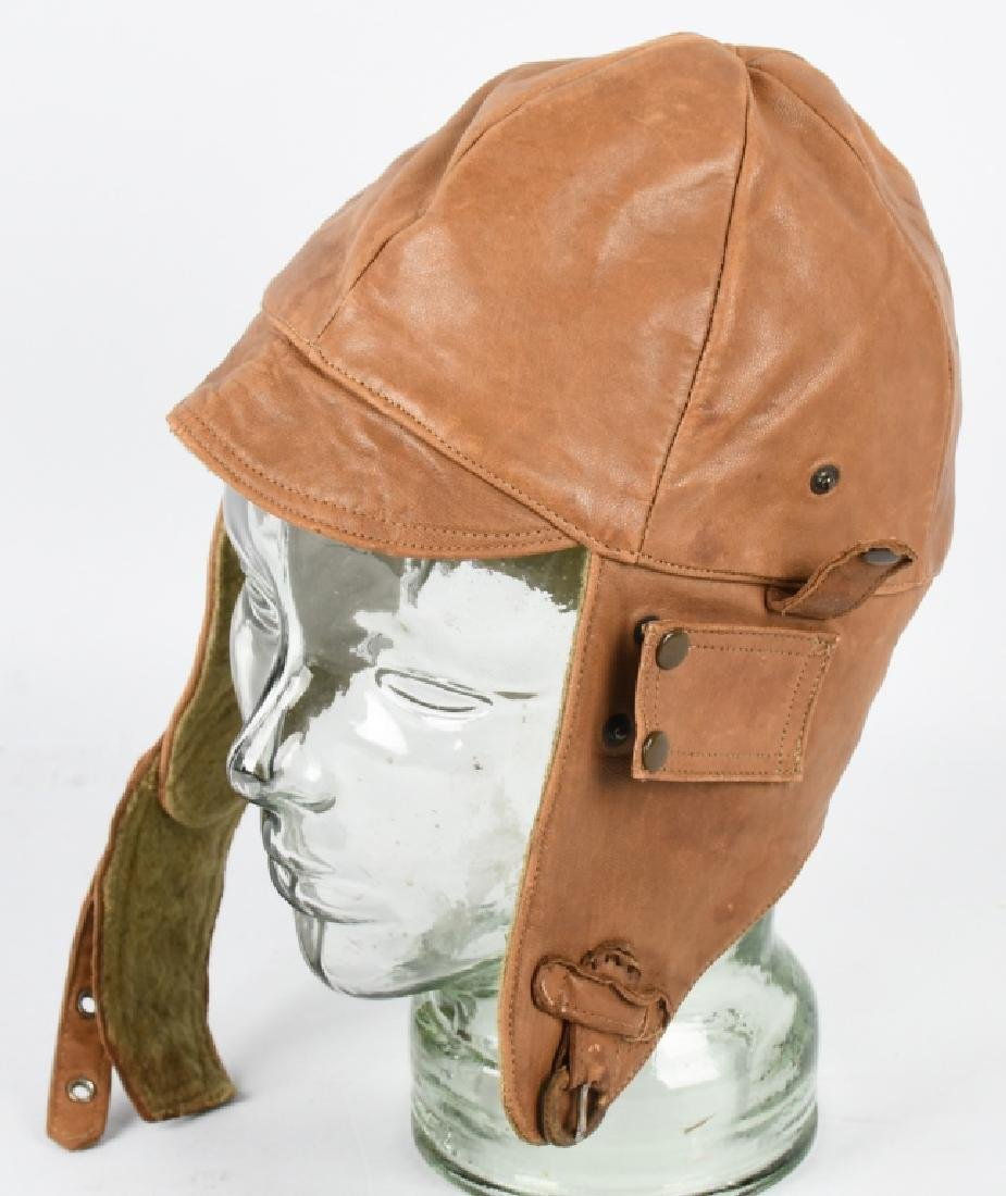 WWI - 1920S PILOT FLIGHT HELMET