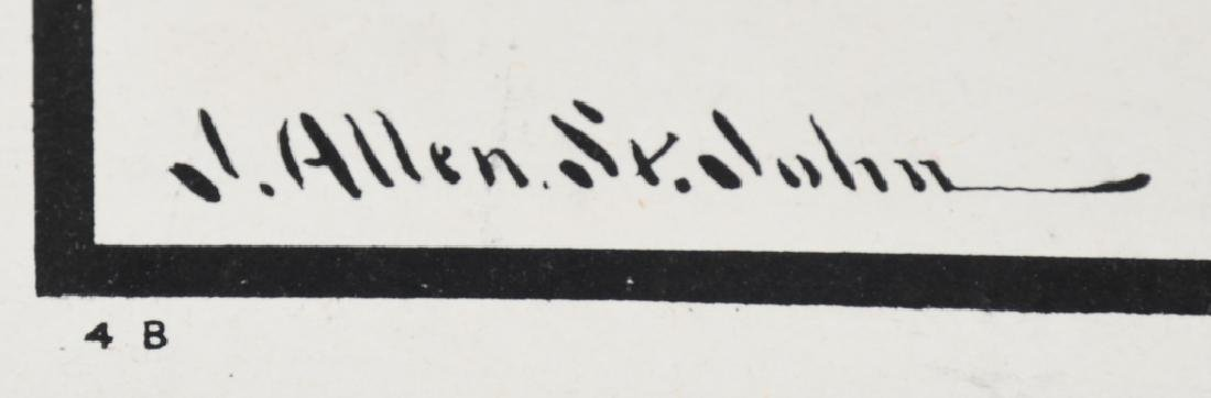 WWI US LIBERTY BONDS POSTER BY J. ALLEN ST. JOHN - 4