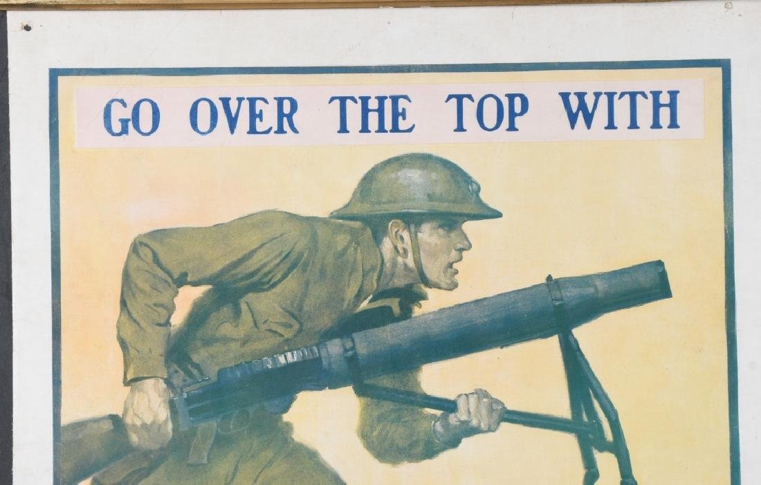 WWI U.S. MARINE CORPS USMC RECRUITING POSTER - 2