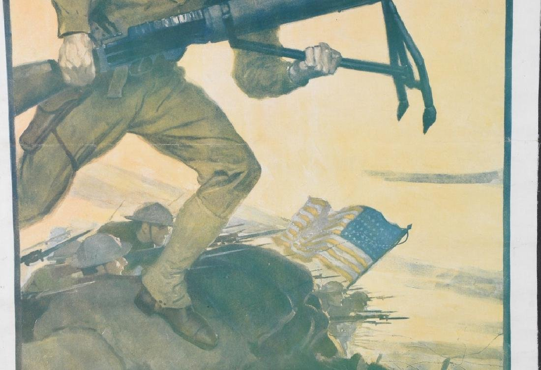 WWI U.S. MARINE CORPS USMC RECRUITING POSTER - 3