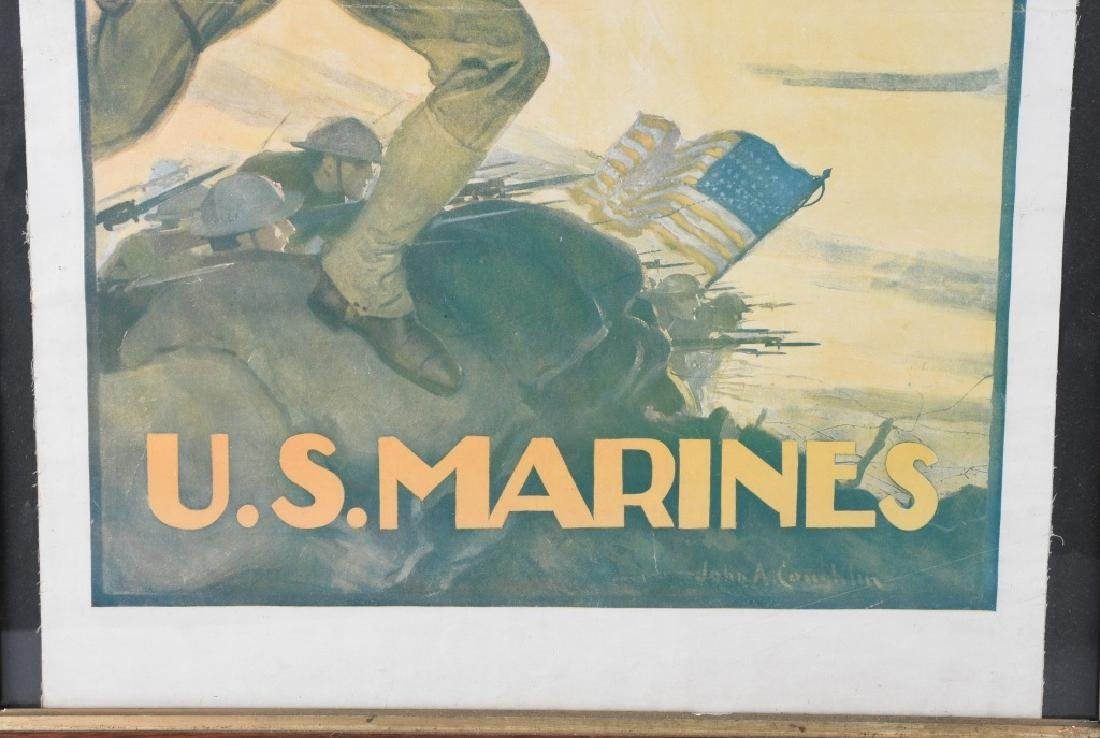 WWI U.S. MARINE CORPS USMC RECRUITING POSTER - 4