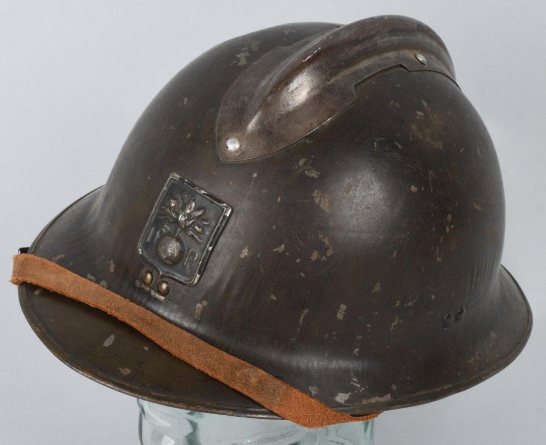 WWI FRENCH M 1915 ADRIAN HELMET
