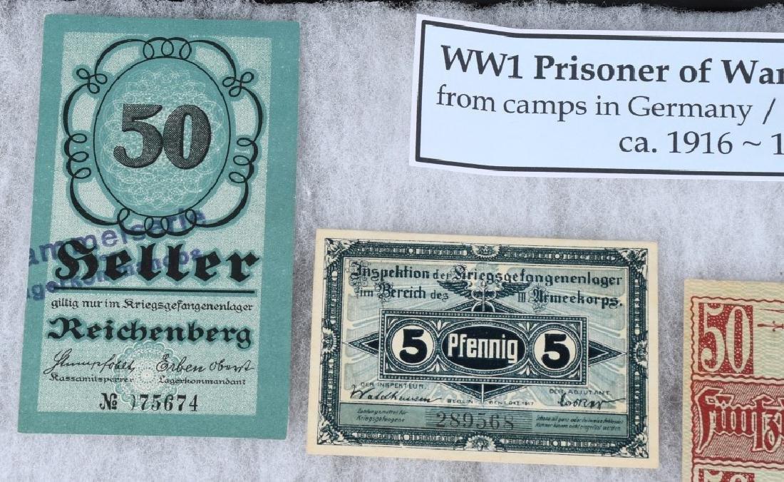 WWI GERMAN AUSTRO/HUNGARIAN POW CAMP MONEY - 2