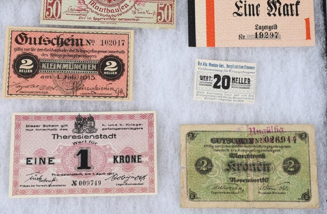WWI GERMAN AUSTRO/HUNGARIAN POW CAMP MONEY - 4