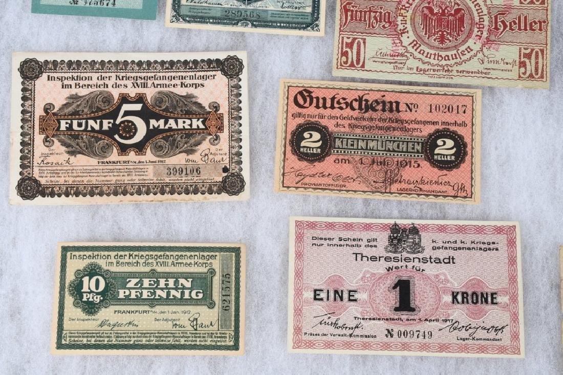 WWI GERMAN AUSTRO/HUNGARIAN POW CAMP MONEY - 5