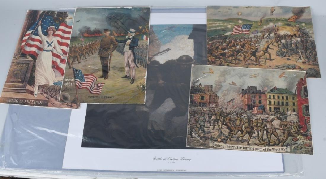 WWI U.S. 19171918 1919 PRINTS BY E.G. RENESCH