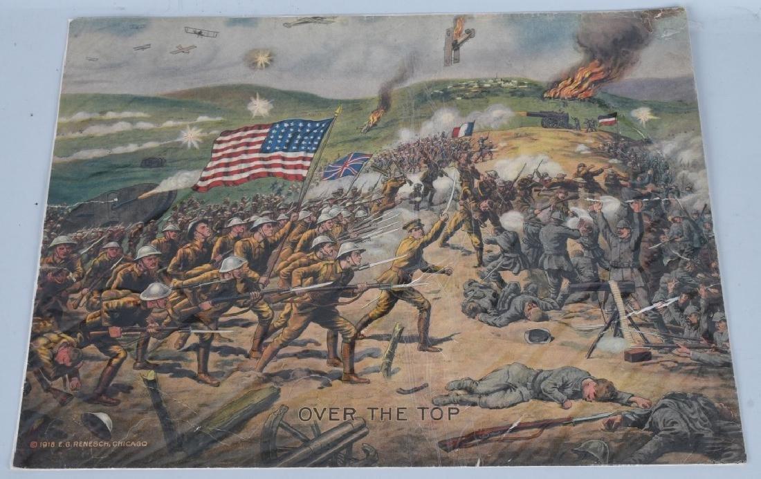 WWI U.S. 19171918 1919 PRINTS BY E.G. RENESCH - 4