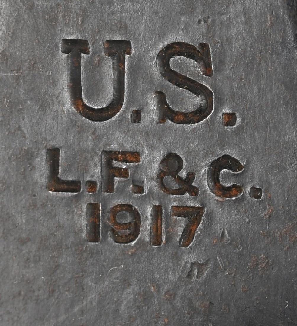 WWI U.S. M 1917 TRENCH KNIFE - L. F. & C. 1917 - 4