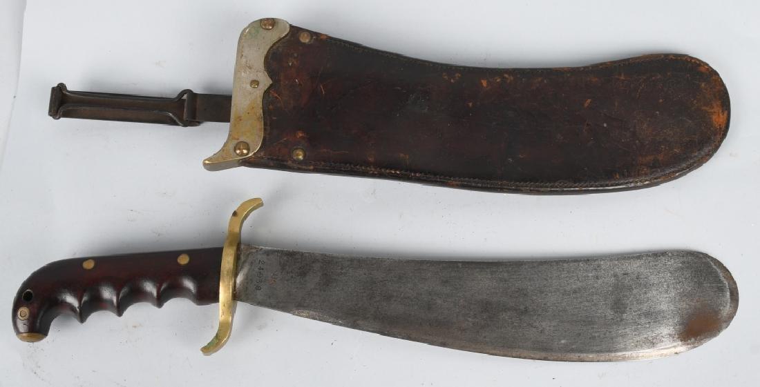 WWI U.S. ARMY M 1904 HOSPITAL CORPSMAN BOLO KNIFE - 2