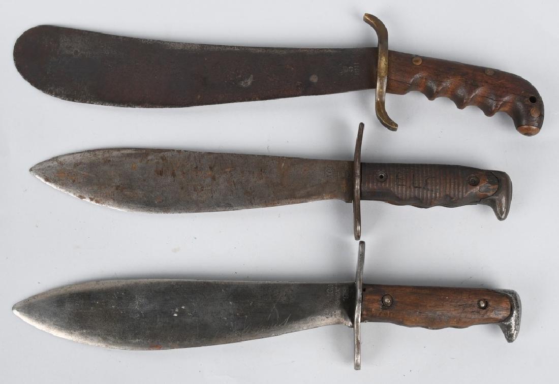 WWI BOLO KNIFE LOT M1917 & ,1904