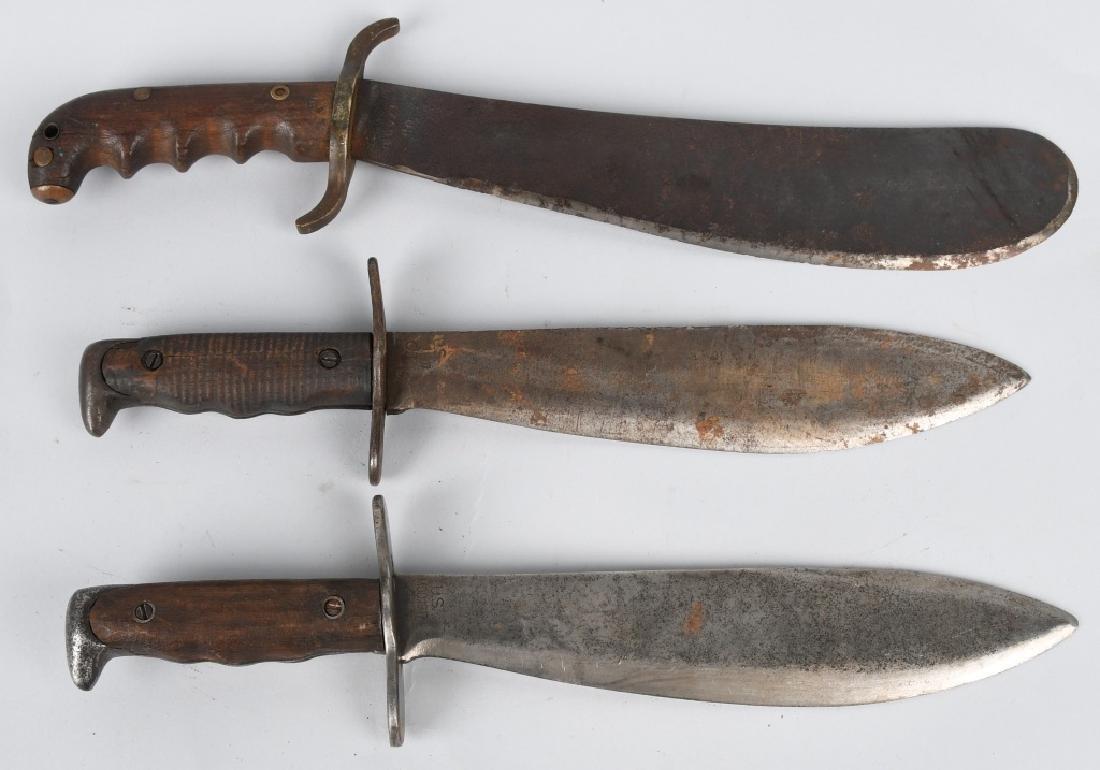 WWI BOLO KNIFE LOT M1917 & ,1904 - 2