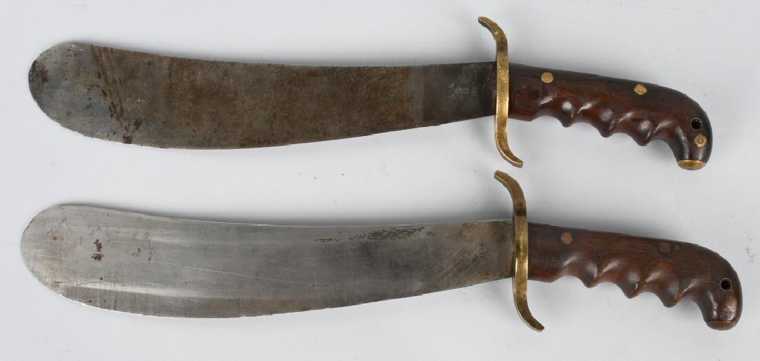 WWI M 1904 HOSPITAL CORPSMAN BOLO KNIFE LOT (2)