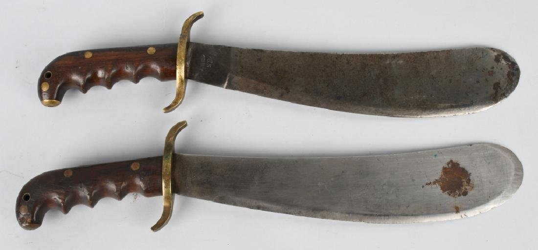 WWI M 1904 HOSPITAL CORPSMAN BOLO KNIFE LOT (2) - 2