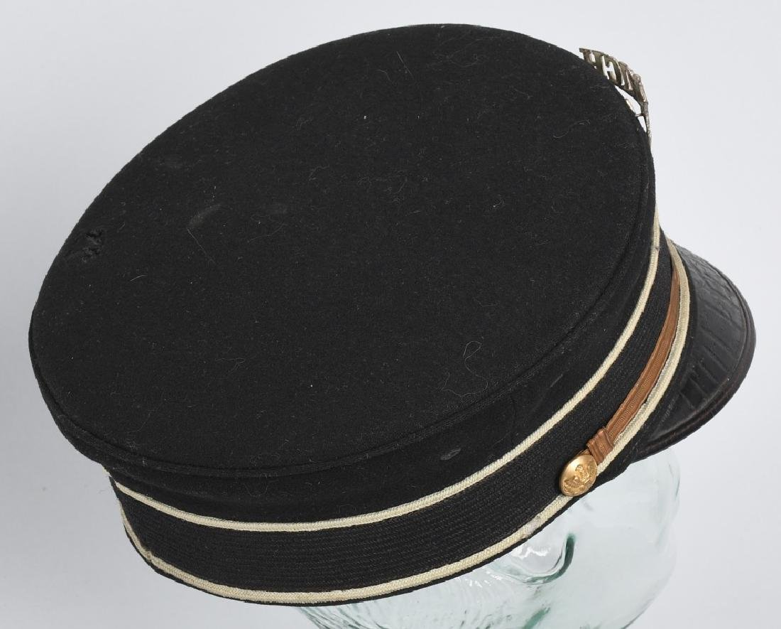 WWI U.S FORE & AFT HAT AND 1892 PATTERN VISOR HAT - 6