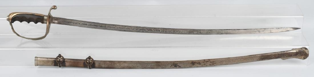 U.S. M 1902 OFFICER'S SWORD & SCABBARD