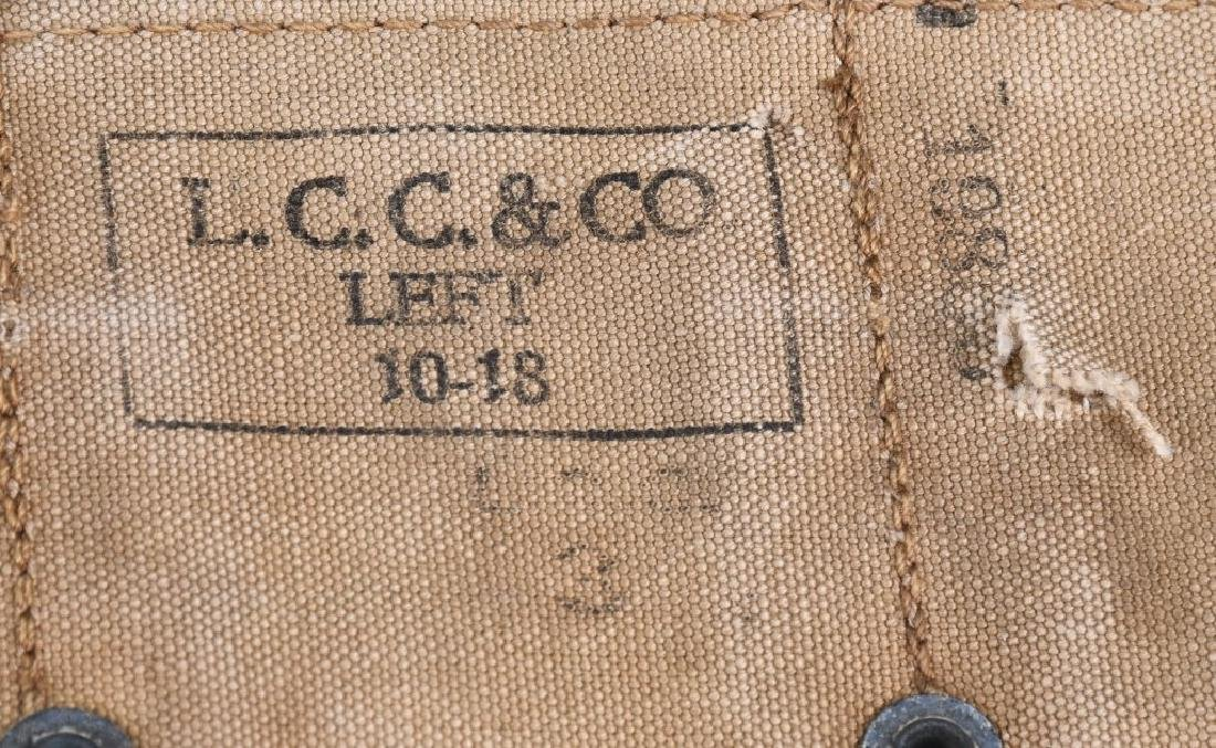WWI US ARMY RIFLE BELT & .45 POUCH LOT 1916 - 1918 - 5