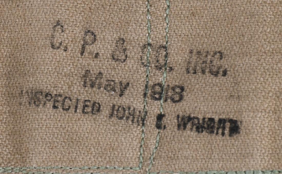 WWI U.S. EQUIPMENT LOT & WW2 BAR BELT - 5