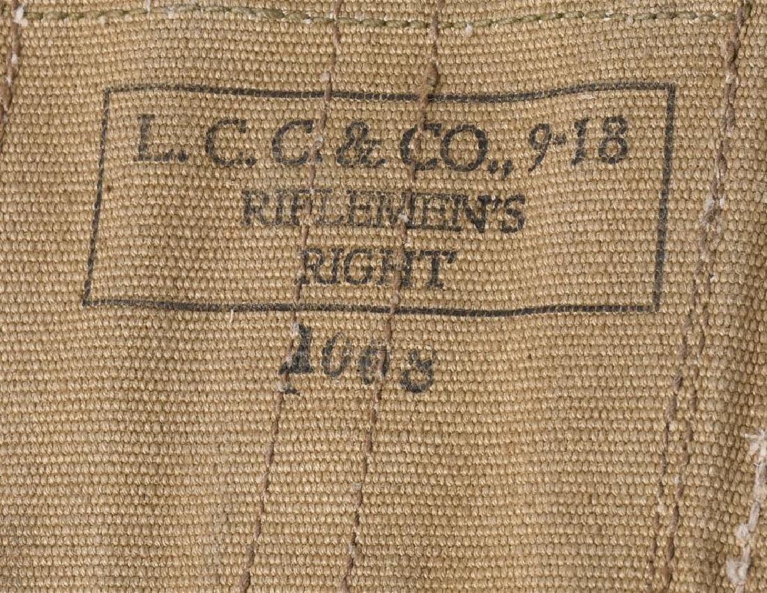 WWI U.S. EQUIPMENT LOT & WW2 BAR BELT - 8
