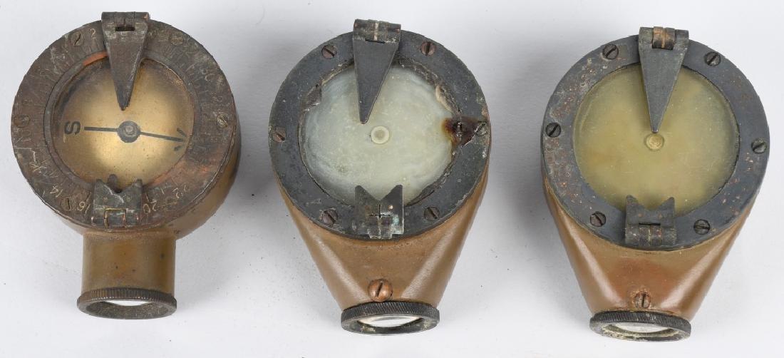 WWI U.S. ARMY & ENGINEER COMPASS LOT (4) - 2