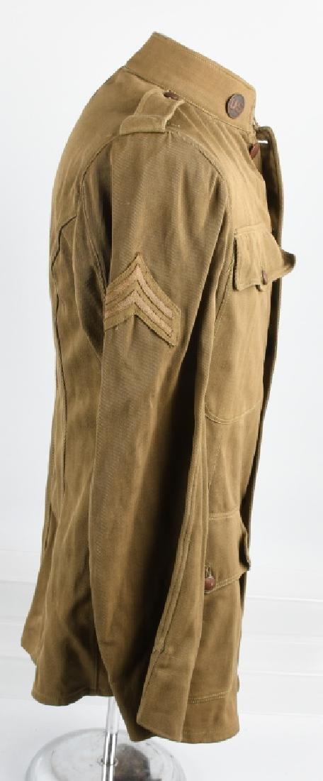 WWI U.S. IDENTIFIED TUNIC 125 FIELD ARTILLERY - 9