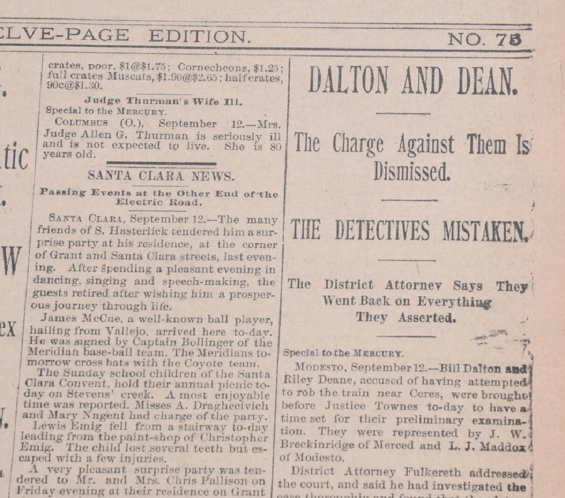 NEWSPAPERS WESTERN HAFIELD DOC CARVER BUFFALO BILL - 14