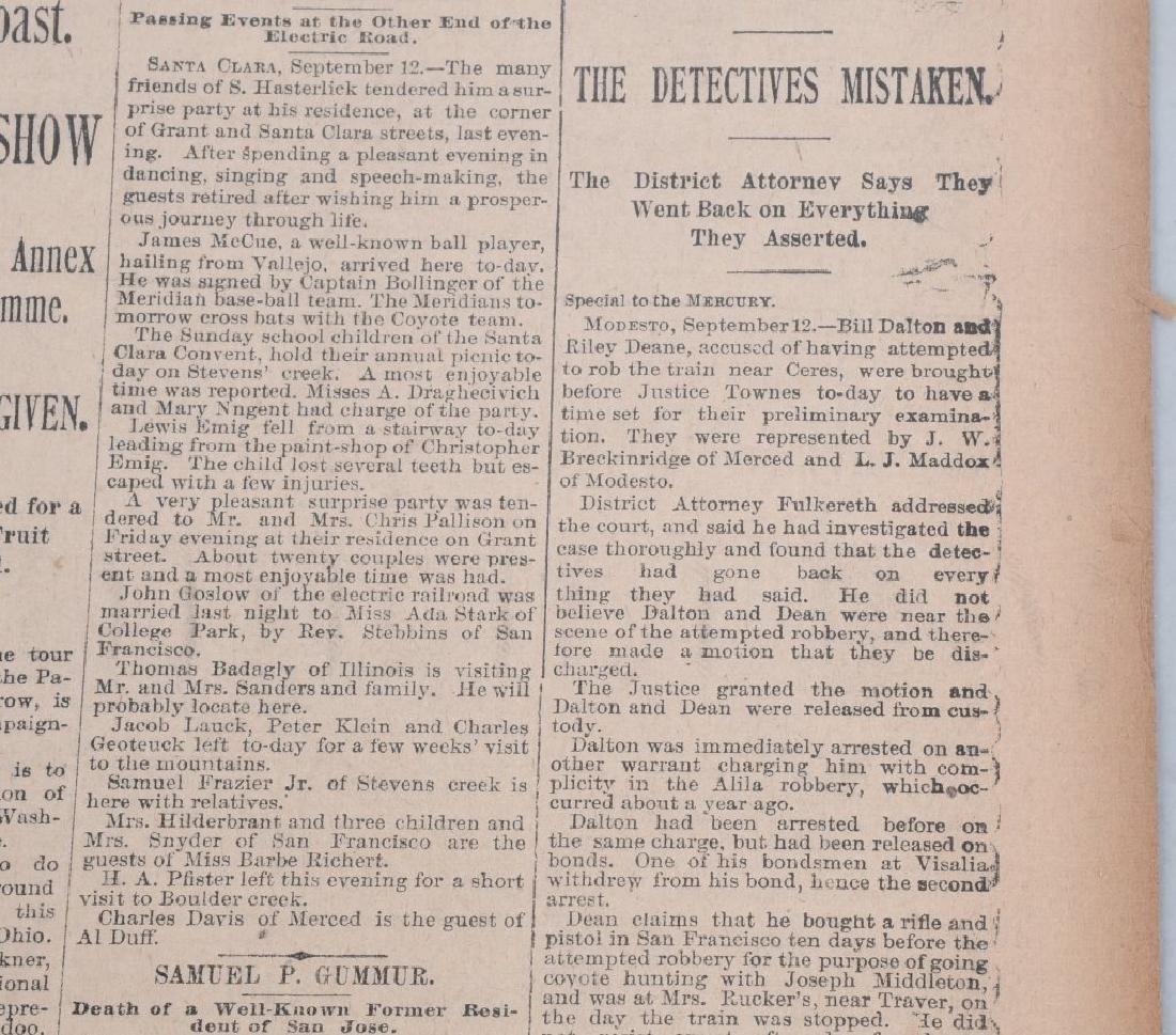 NEWSPAPERS WESTERN HAFIELD DOC CARVER BUFFALO BILL - 15
