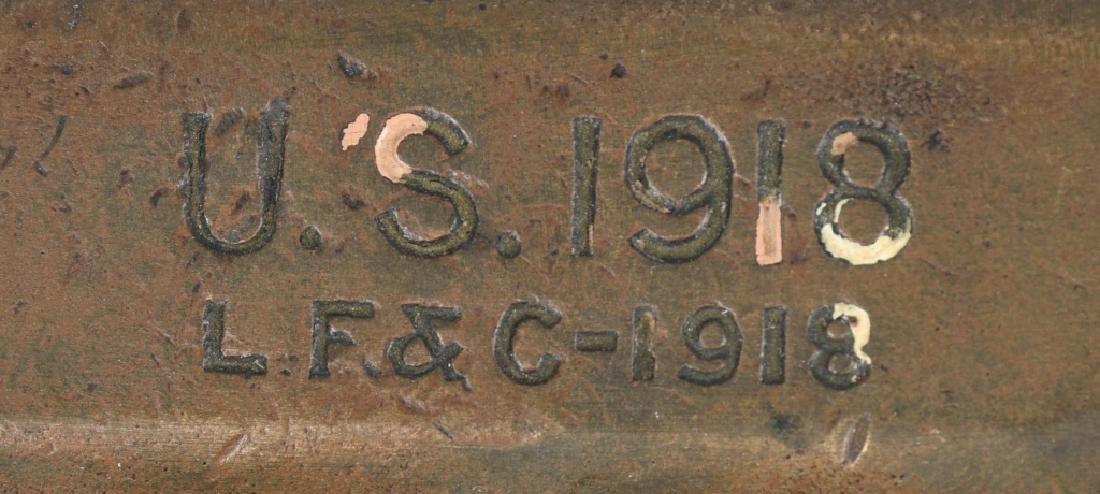 WWI U.S. M 1918 TRENCH KNIFE LF&C 1918 - 2