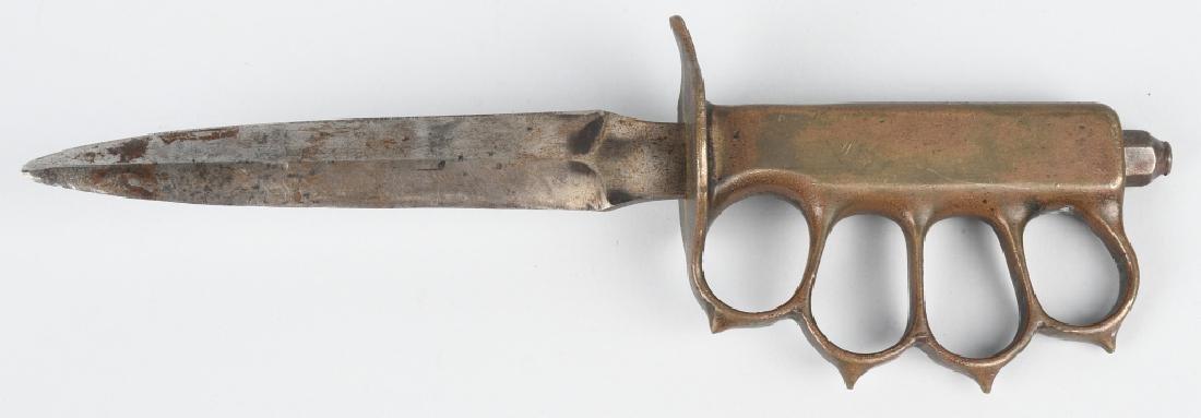 WWI U.S. M 1918 TRENCH KNIFE LF&C 1918 - 3