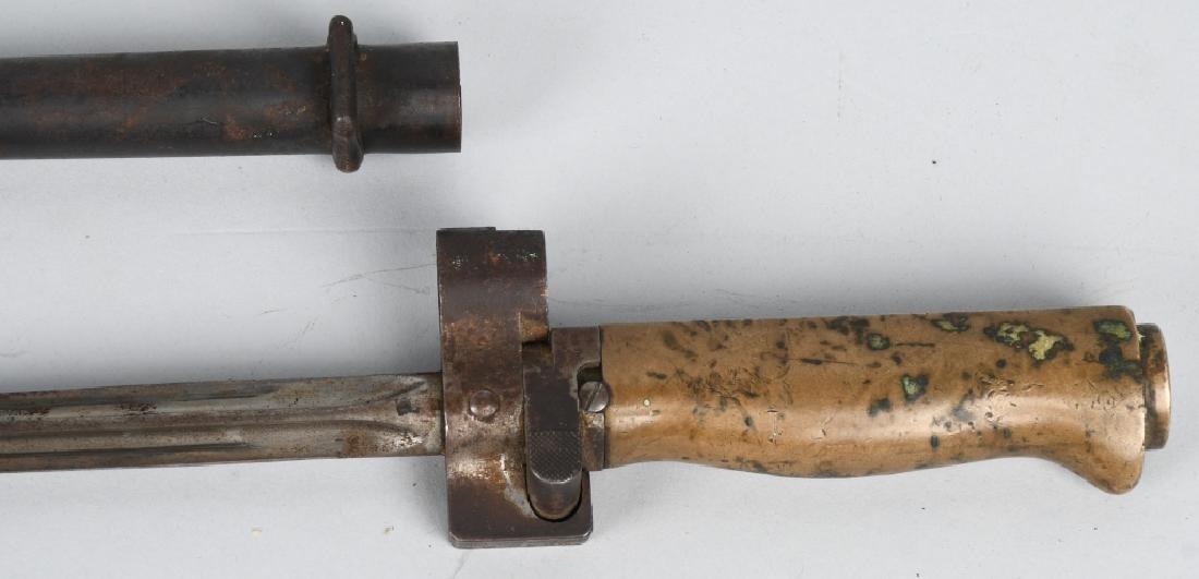 WWI M 1886 LEBEL BAYONET & SCABBARD - FULL LENGTH - 2