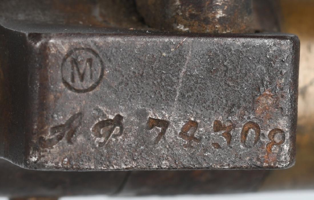 WWI M 1886 LEBEL BAYONET & SCABBARD - FULL LENGTH - 5