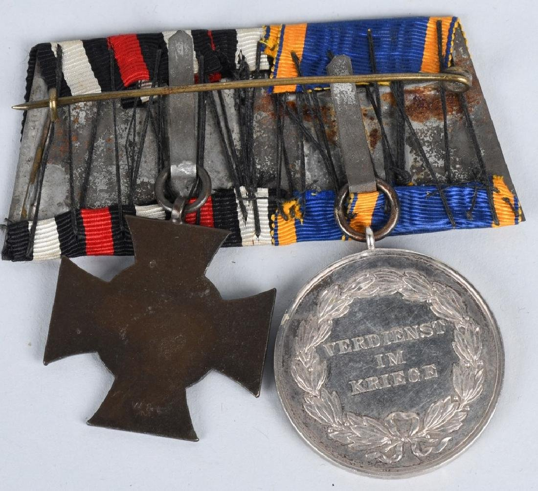 WWI IMPERIAL GERMAN MEDAL BAR LOT (2) - 5