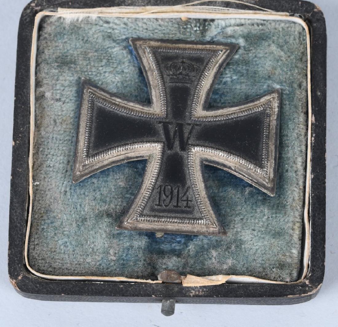 WWI GERMAN CASED IRON CROSS 1ST CLASS - 2