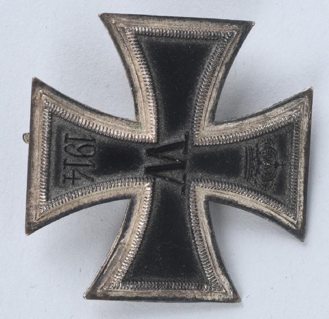 WWI GERMAN CASED IRON CROSS 1ST CLASS - 3