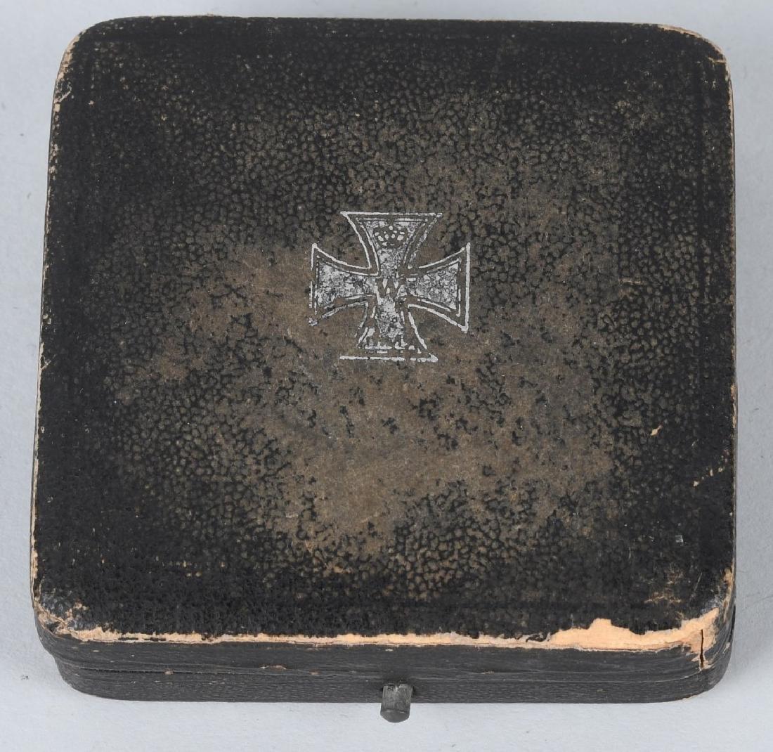 WWI GERMAN CASED IRON CROSS 1ST CLASS - 5