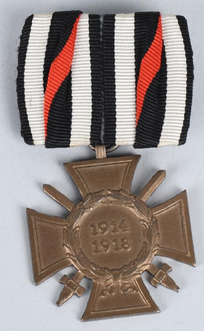 WWI IMPERIAL AUSTRIAN AND GERMAN MEDAL BAR LOT (2) - 2