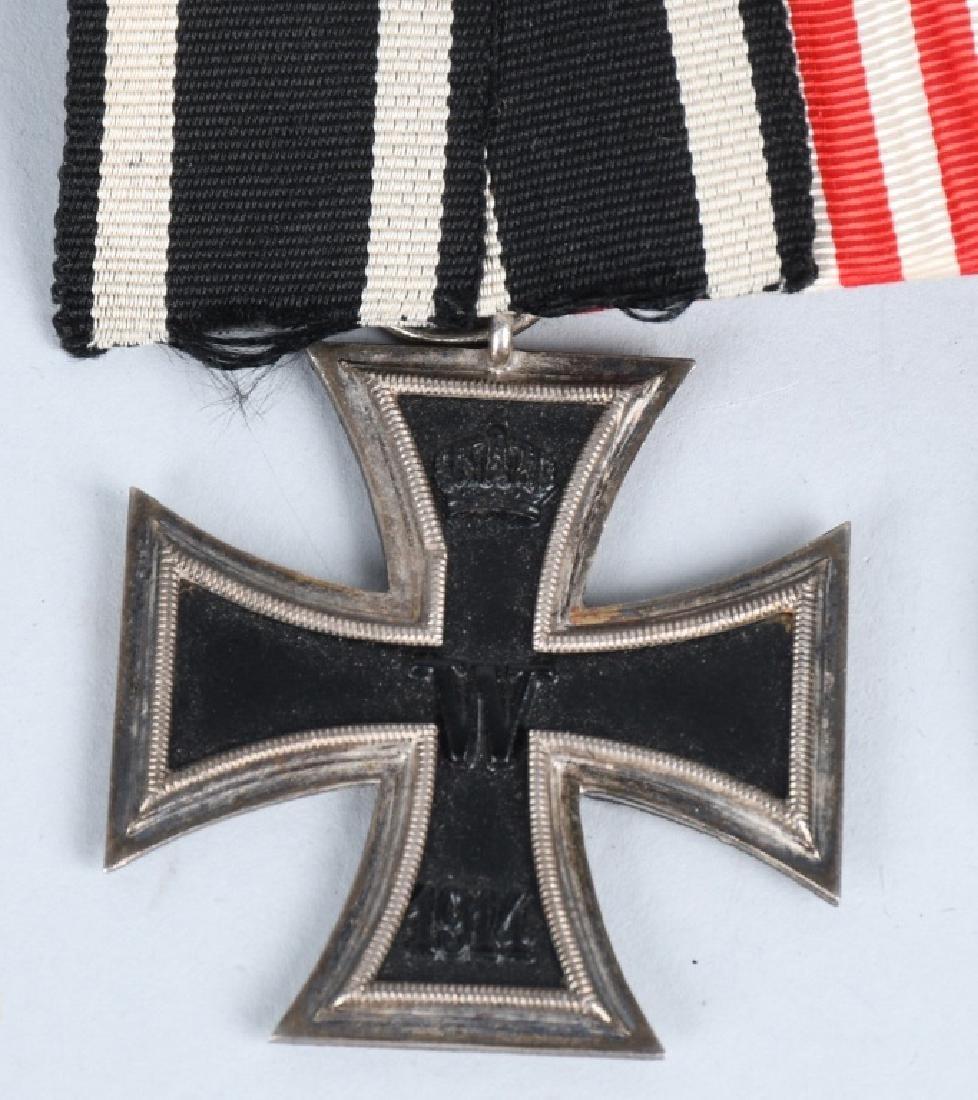WWI IMPERIAL GERMAN - WWII 5 MEDAL BAR - 2