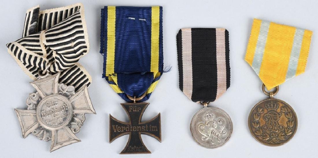 WWI IMPERIAL GERMAN MEDAL LOT (12) - 2