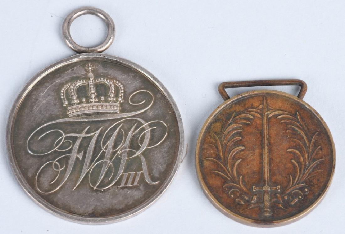 WWI IMPERIAL GERMAN MEDAL LOT (12) - 4